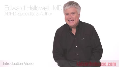 Edward Hallowell, MD, EdD, Psychiatrist, ADHD Specialist, & Author