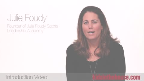 Julie Foudy, Founder of the Julie Foudy Sports Leadership Academy